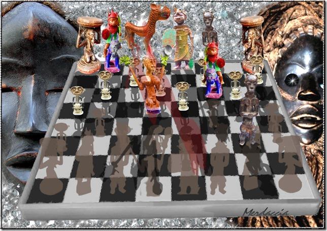 ombre con scacchi